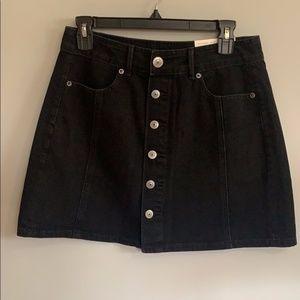 NWT Denim Mini Skirt